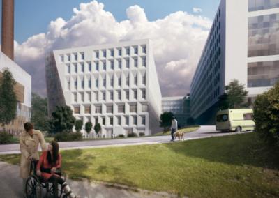 SÖS Ny Akutbyggnad, Södersjukhuset Byggnad 70: