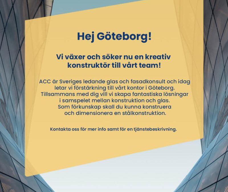 Hej Göteborg!